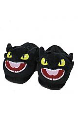 Black Cat Animated Slippers