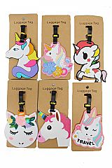 Unicorn Silicon Luggage Name Tag