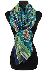 Colorful Missoni Pattern Soft Scarves