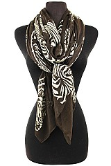 Zebra Pattern Soft Scarves