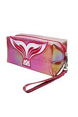 Colorful Mermaid Tail Colorful Laser Iridescent Pouch Bag