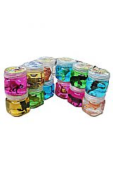Gel Glitter Jelly With Novelty Fish and Safari Animal Figurine
