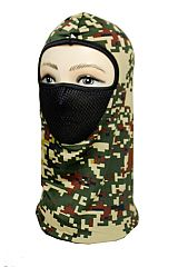 Digital Camouflage Mesh Mouth Breathable Full Face Neck Masks