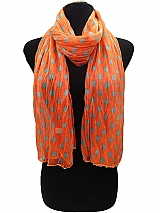 Color Full Polka Dot Stretchy Scarves