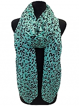Leopard Color full Scarves & Wraps