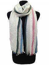 Striped Color Full Scarves