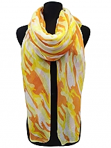 Camouflage Color full Scarves & wraps