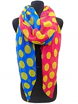 Big Dot Scarf Two Tone