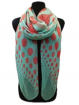 Polka dot Scarves Very Soft
