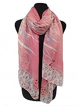 Flower Print Soft Scarf
