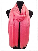 Solid Color Soft Silky Scarves