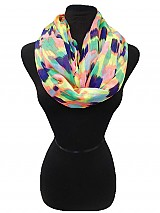 Infinity Colorful Stripe scarf