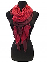 Ruffle Regular &Two Tone scarf