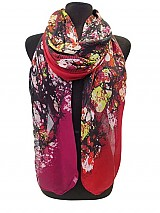 Molted Color Print scarves