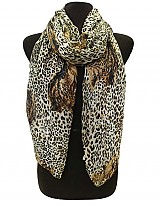 Cheetah Face & Print scarves