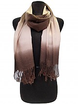 Ombr� Style Scarves with Fringe