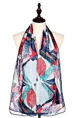 Autumn Leaves Printed Scarves