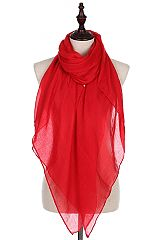 Basic Casual Chic Oblong Scarves