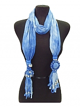 New Design Faded Jewel Scarves