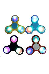 Hand Spinner With Light Fidget Toys