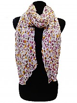 Colorful Dot Scarves