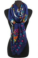 Tribal Pattern Fall Soft Scarves