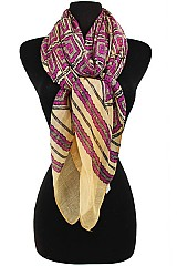 Geometric Pattern Softness Regular Scarf