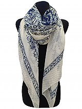 Paisley And Dot Scarves