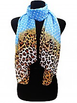 Polka dot & Leopard Colorful Scarves