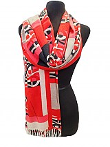 Retro Exotic Pashmina Pattern Shawl/Scarves